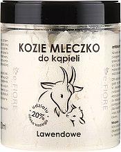 """Latte di capra per bagno """"Lavanda"""" - E-Fiore Lavender Bath Milk — foto N1"""