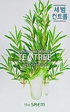 Profumi e cosmetici Maschera in tessuto con estratto dell'albero del tè - The Saem Natural Tea Tree Mask Sheet