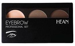 Profumi e cosmetici Palette per sopracciglia - Hean Professional Eyebrow Set 2