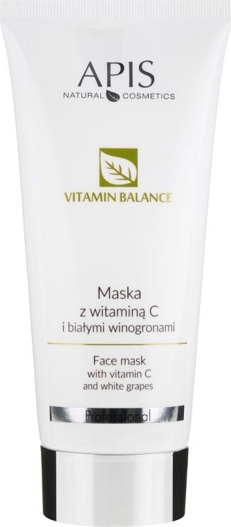 Maschera-gel viso - APIS Professional Vitamin-Balance Gel-Mask