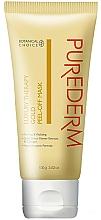 "Profumi e cosmetici Maschera-peeling viso ""Gold"" - Purederm Luxury Therapy Gold Peel-Off Mask"