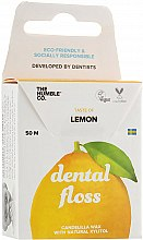"Profumi e cosmetici Filo interdentale ""Limone"" - The Humble Co. Dental Floss Lemon"