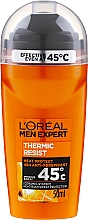 Profumi e cosmetici Deodorante roll-on - L'Oréal Paris Men Expert Thermic Resist Clean Cool Deo Roll-On