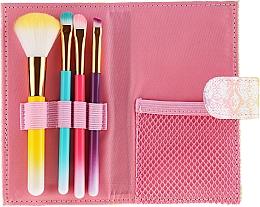 Profumi e cosmetici Set pennelli colorati per il trucco, 4 pezzi - Avon
