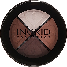 Profumi e cosmetici Ombretti - Ingrid Cosmetics Smoky Eyes Eye Shadows