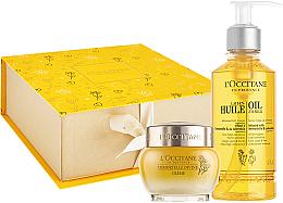 Profumi e cosmetici Set - L'occitane Immortelle Divine (f/oil/200ml + cr/50ml)