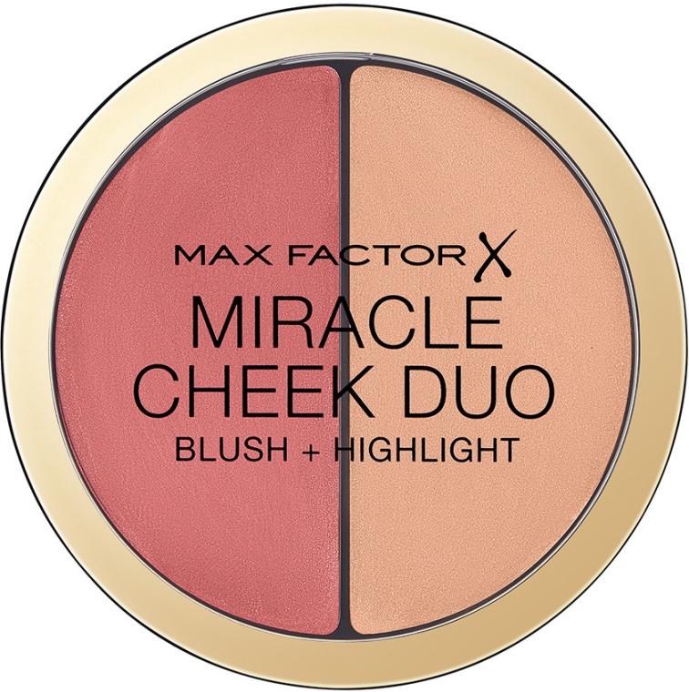 Palette blush e illuminante - Max Factor Miracle Cheeck Duo