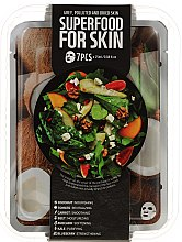 Profumi e cosmetici Set - Superfood Salad For Skin Grey Polluted And Dried Skin (mask/7x25ml)