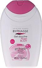 "Profumi e cosmetici Gel doccia ""Melograno rosa"" - Byphasse Plaisir Shower Gel Pink Pomegranate"