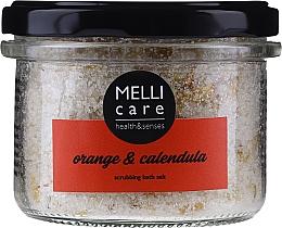 Profumi e cosmetici Sale da bagno esfoliante naturale - Melli Care Orange & Calendula Scrubbing Bath Salt