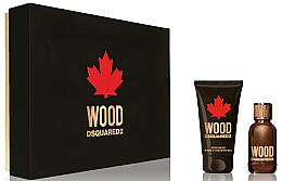 Profumi e cosmetici Dsquared2 Wood Pour Homme - Set (edt/30ml + sh/gel/50ml)