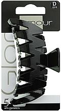 Profumi e cosmetici Pinza capelli, 0212, nera - Glamour
