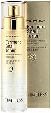 Profumi e cosmetici Tonico alla bava di lumaca fermentata - Tony Moly Timeless Ferment Snail Toner