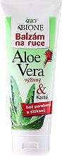 Profumi e cosmetici Balsamo mani idratante - Bione Cosmetics Aloe Vera Nourishing Hand Ointment With Collagen