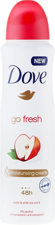 "Deodorante antitraspirante ""Mela e tè bianco"" - Dove Go Fresh Apple & White Tea"