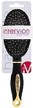 Profumi e cosmetici Spazzola per capelli, 499252, nero-oro - Inter-Vion