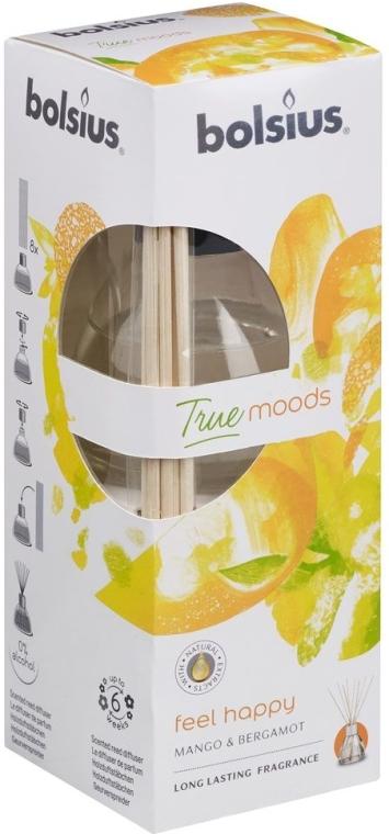 """Diffusore di aromi """"Mango e bergamotto"""" - Bolsius Fragrance Diffuser True Moods Feel Happy"""