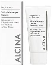 Profumi e cosmetici Crema abbronzante - Alcina B Self-Tanning Cream