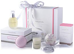 Profumi e cosmetici Set - AromaWorks Nurture Body Indulgence Gift Set (bath/bomb/2x250g + candle/75g + b/oil/100ml + flannel)