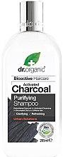 Profumi e cosmetici Shampoo con carbone attivo - Dr. Organic Bioactive Haircare Activated Charcoal Purifying Shampoo