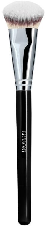 Pennello smussato per fondotinta - Lussoni PRO 142 Angled Foundation Brush — foto N1