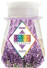 """Profumi e cosmetici Gel deodorante con cristalli """"Lavanda"""" - Airpure Colour Change Crystals Lavender Moments"""