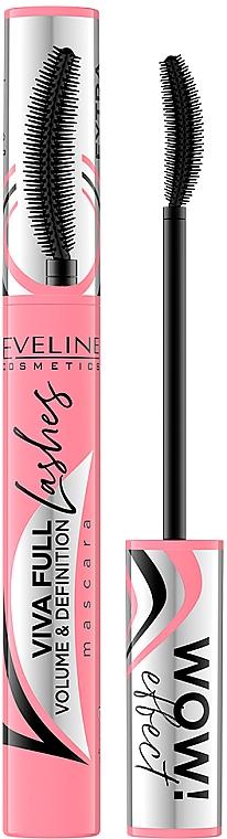 Mascara - Eveline Cosmetics Viva Full Lashes Mascara Volume And Definition