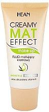 Profumi e cosmetici Fondotinta fluido opacizzante - Hean Creamy Mat Effect