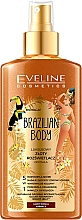 """Profumi e cosmetici Spray corpo """"Lussuoso corpo dorato"""" - Eveline Cosmetics Brazilian Body Luxury Golden Body"""