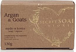 Profumi e cosmetici Sapone proteico all'olio di argan e latte di capra - The Secret Soap Store Argan & Goats