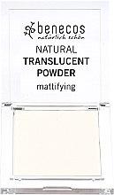 Profumi e cosmetici Cipria trasparente opacizzante per il viso - Benecos Natural Translucent Powder Mission Invisible