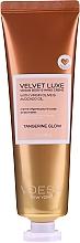 Profumi e cosmetici Crema corpo e mani con olio d'oliva e avocado - Voesh Velvet Luxe Tangerine Glow Vegan Body&Hand Creme