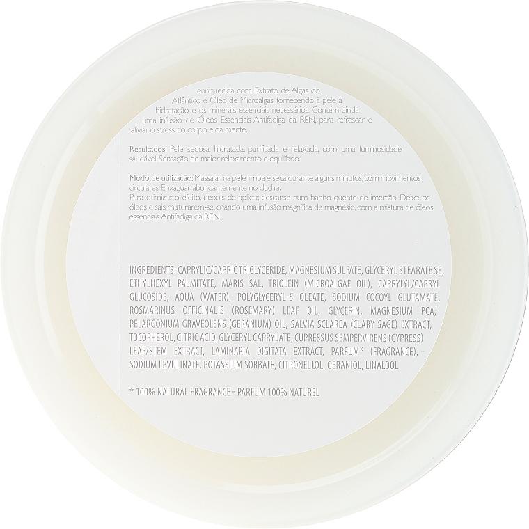 Scrub corpo salino - Ren Atlantic Kelp And Magnesium Salt Anti-Fatigue Exfoliating Body Scrub — foto N2