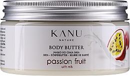 """Profumi e cosmetici Burro corpo """"Frutto della passione"""" - Kanu Nature Passion Fruit Body Butter"""