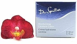 Profumi e cosmetici Crema viso idratante con carotene - Dr. Spiller Moisturizing Carotene Cream