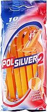 Profumi e cosmetici Set rasoi usa e getta, 10 pz - Polsilver 2