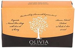 """Profumi e cosmetici Sapone solido """"Oliva e miele"""" - Olivia Beauty & The Olive Tree Natural Bar Soap With Olive Oil And Honey"""