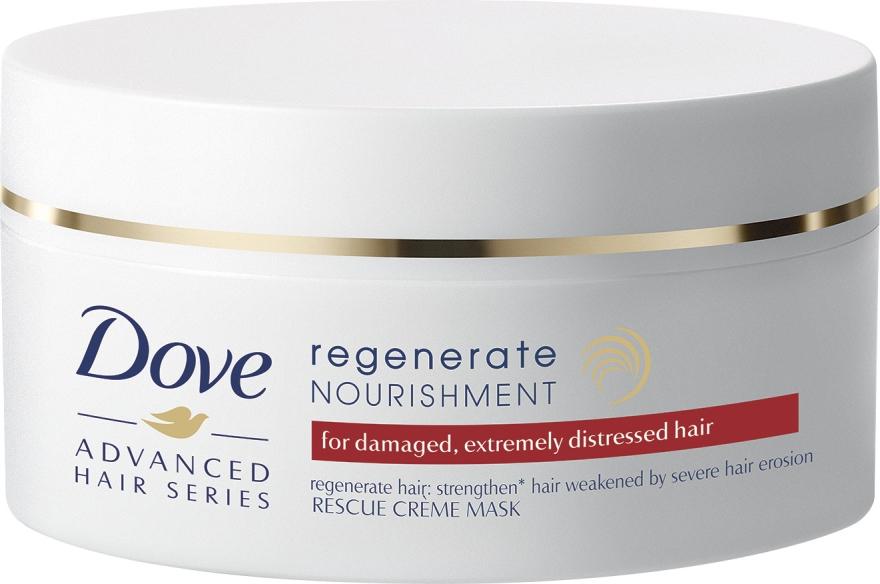 """Maschera-crema nutriente per capelli """"""""Recupero progressivo"""" - Dove Advanced Regenerate Nourishment Creme Mask — foto N1"""
