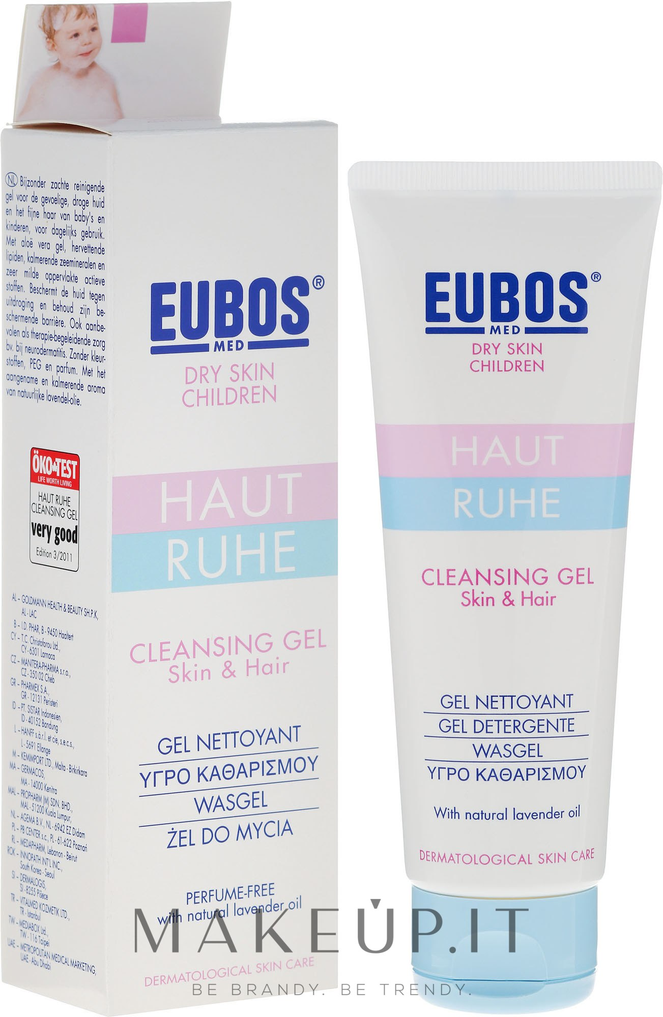 Gel per bambini - Eubos Med Dry Skin Children Cleansing Gel — foto 125 ml