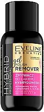 Profumi e cosmetici Gel solvente smalto - Eveline Cosmetics Hybrid Professional