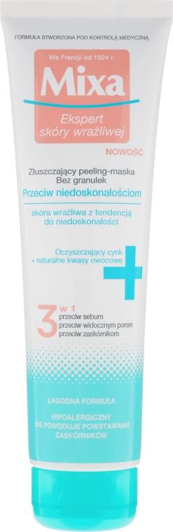 Maschera peeling esfoliante - Mixa Face Peeling Mask 3in1