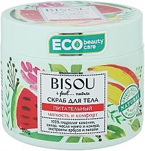 """Profumi e cosmetici Scrub corpo """"Nutriente"""" con estratto di anguria ed estratto di mango - Bisou I feel... Nature Nourishing Body Scrub"""