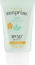 Profumi e cosmetici Crema solare viso - Etude House Sunprise Mild Watery Light SPF50+/PA+++