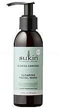Profumi e cosmetici Gel detergente per viso - Sukin Blemish Control Clearing Facial Wash