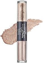 Profumi e cosmetici Ombretto - Touch in Sol Metallist Liquid Foil & Glitter Eye Shadow Duo