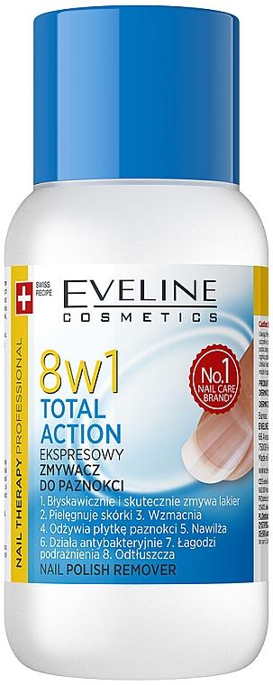 Solvente per smalto 8in1 - Eveline Cosmetics Nail Therapy Professional