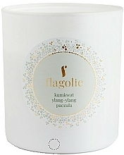 "Profumi e cosmetici Candela profumata ""Kumquat, ylang-ylang, patchouli"" - Flagolie Soy Candle"