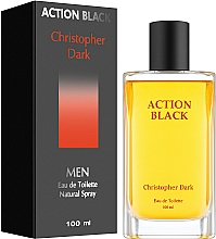Profumi e cosmetici Christopher Dark Action Black - Eau de toilette