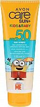 Profumi e cosmetici Crema solare per bambini - Avon Sun+ Kids And Baby Sun Cream SPF50