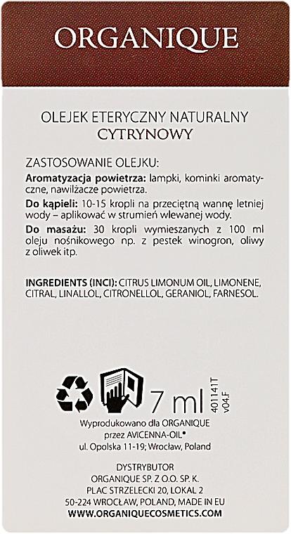 """Olio essenziale """"Limone"""" - Organique Natural Essential Oil Lemon — foto N3"""